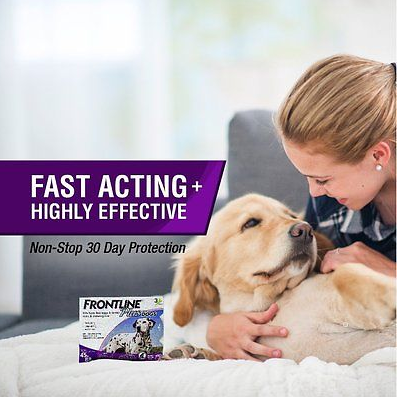 Merial Frontline Plus Dog Treatment