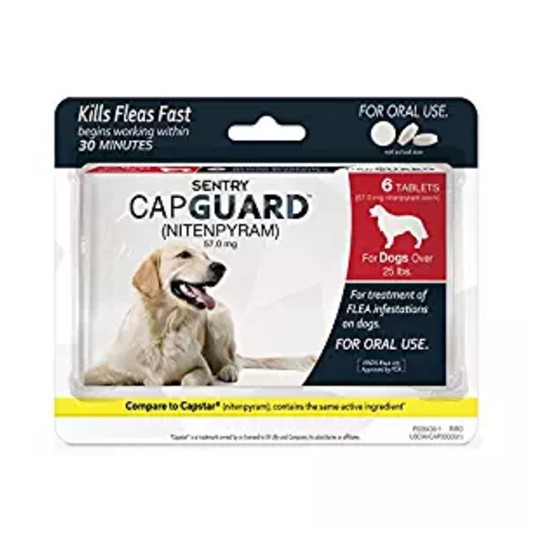 Sentry Capguard Flea Tablets