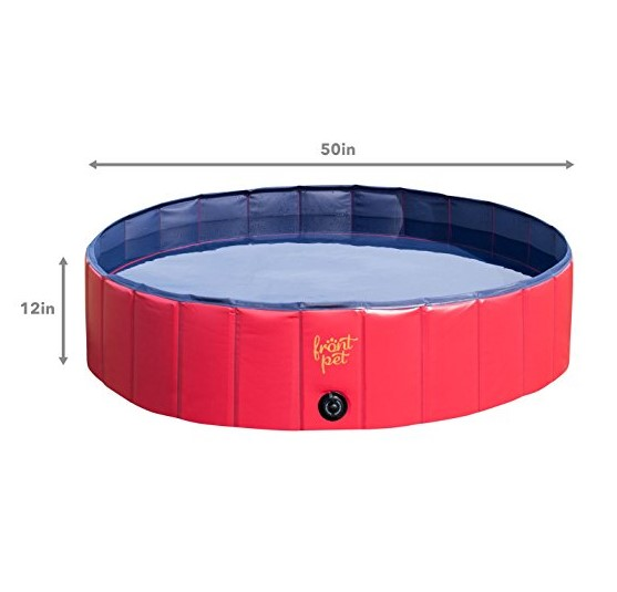 FrontPet Foldable Dog Pet Pool Bathing Tub – Available in 2 Sizes