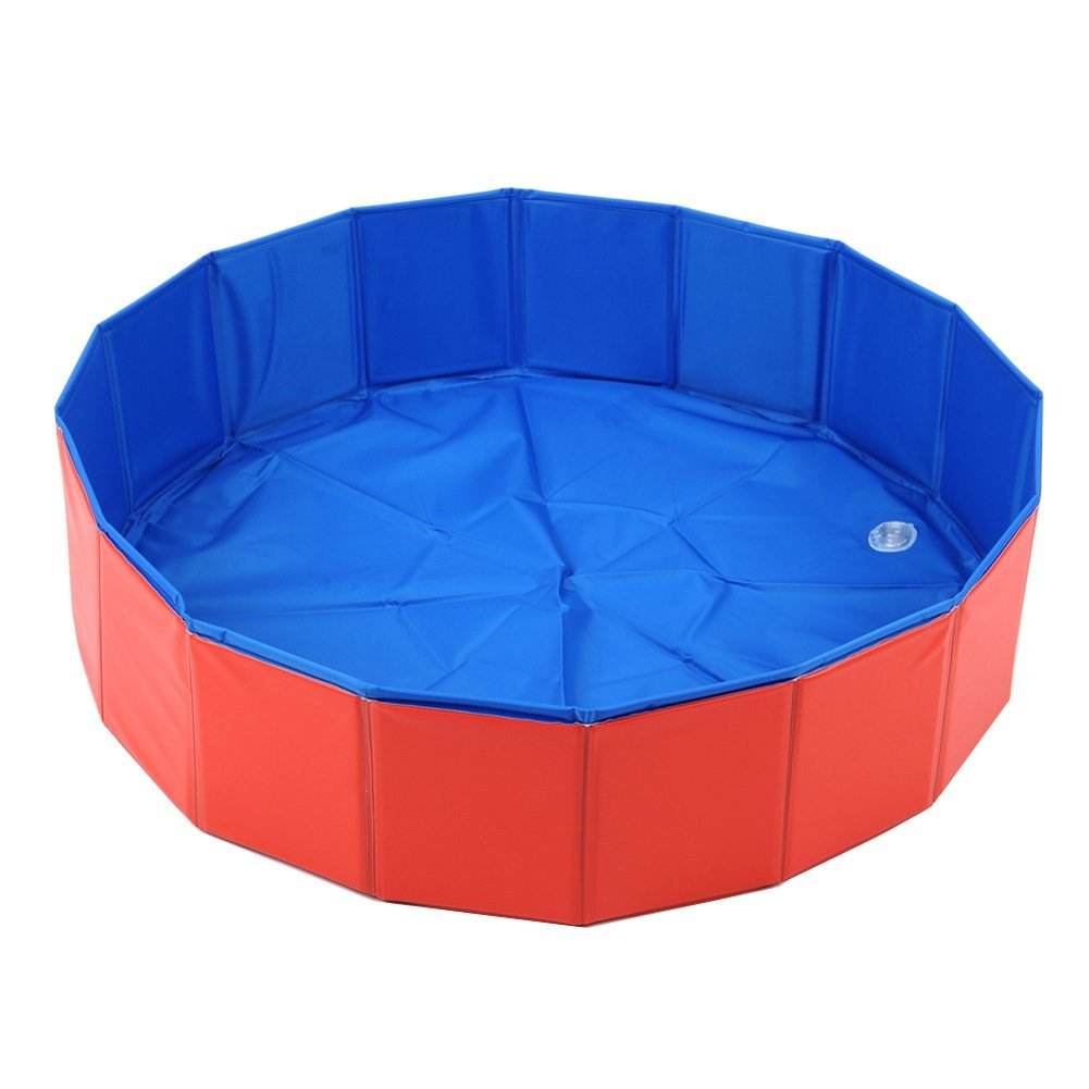 Lalawow Foldable Dog Swimming Pool