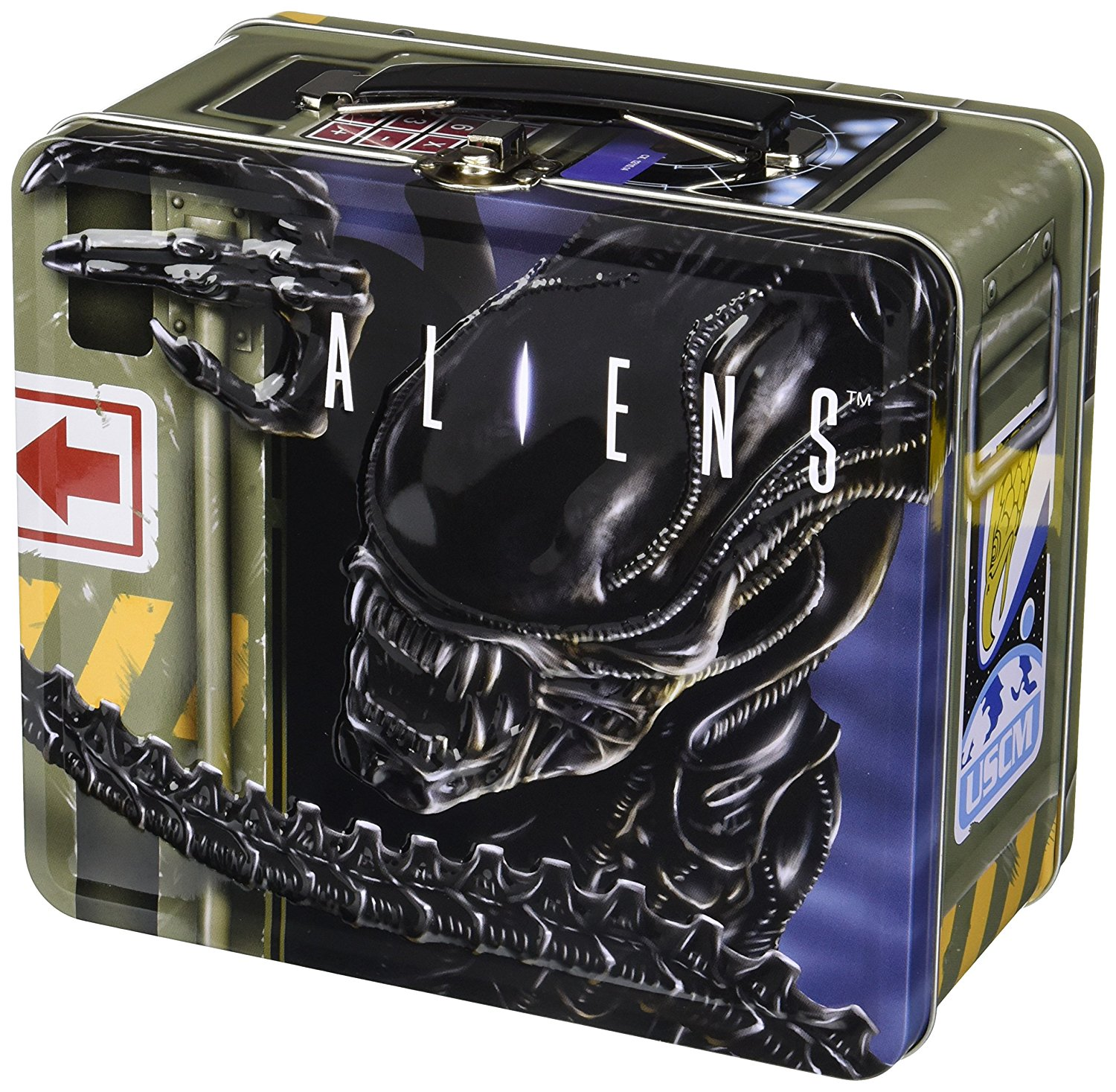 Diamond Select Aliens Retro Lunch Box with Thermos