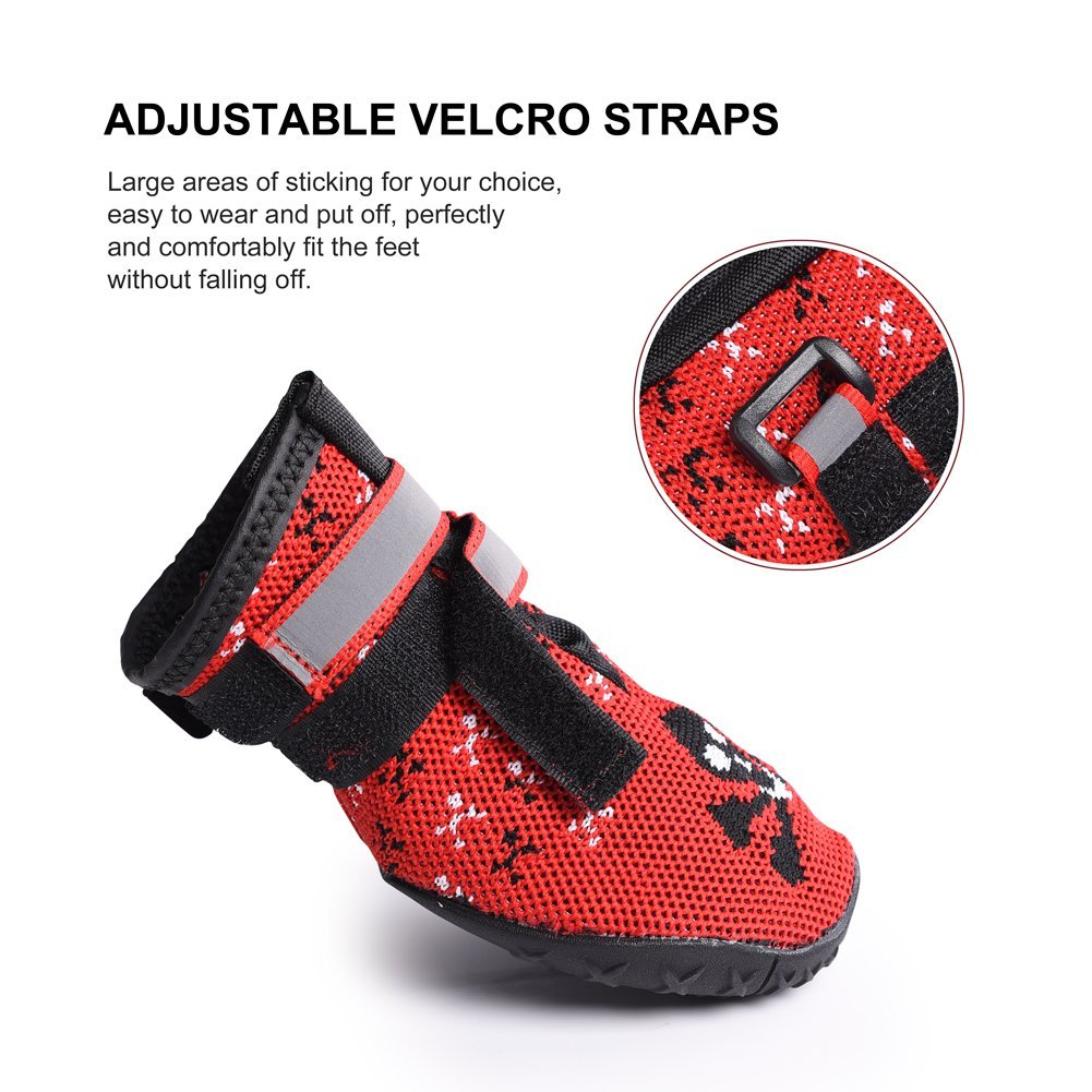 Petacc Large Dog Waterproof Boots