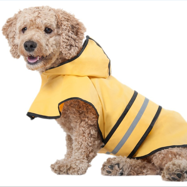 Fashion Pet Yellow Raincoat