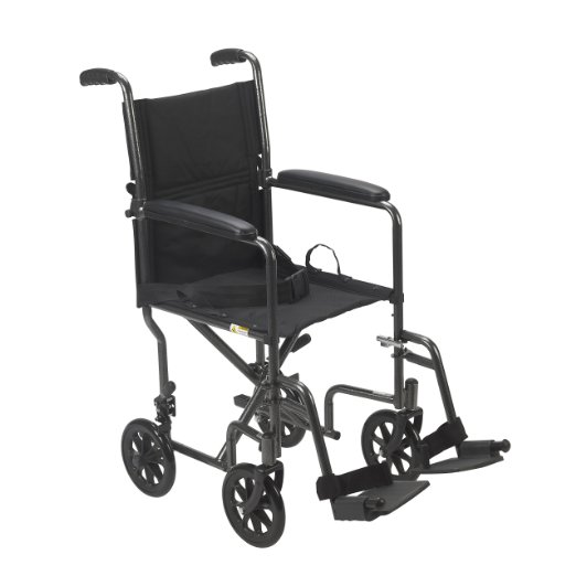 Drive Medical Foldable Steel Wheelchair