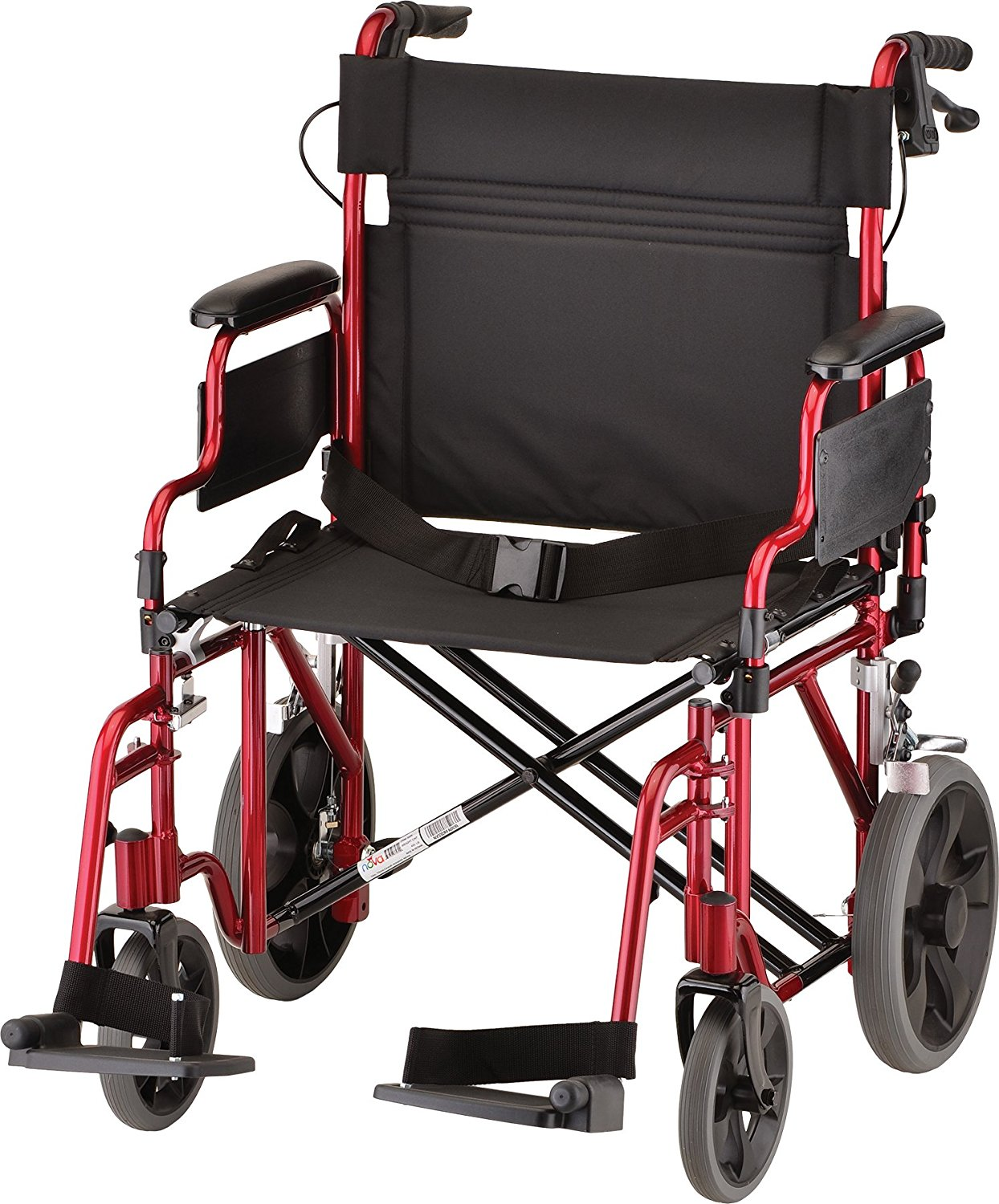 NOVA Heavy Duty Transport Wheelchair