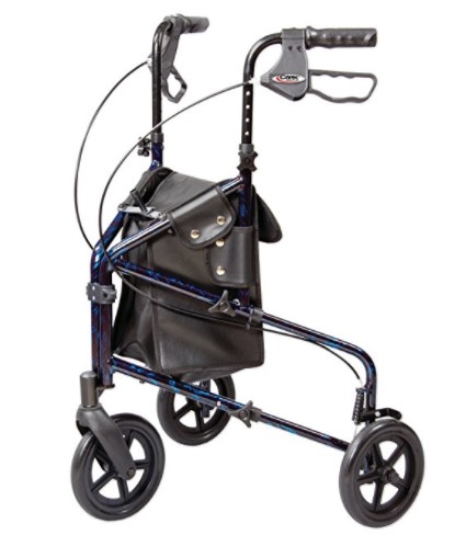 Carex Health Brands 3 Wheel Trio Roller Walker