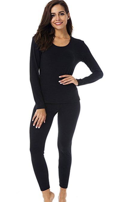 HieasyFit Women's Thermal Underwear Base Layer