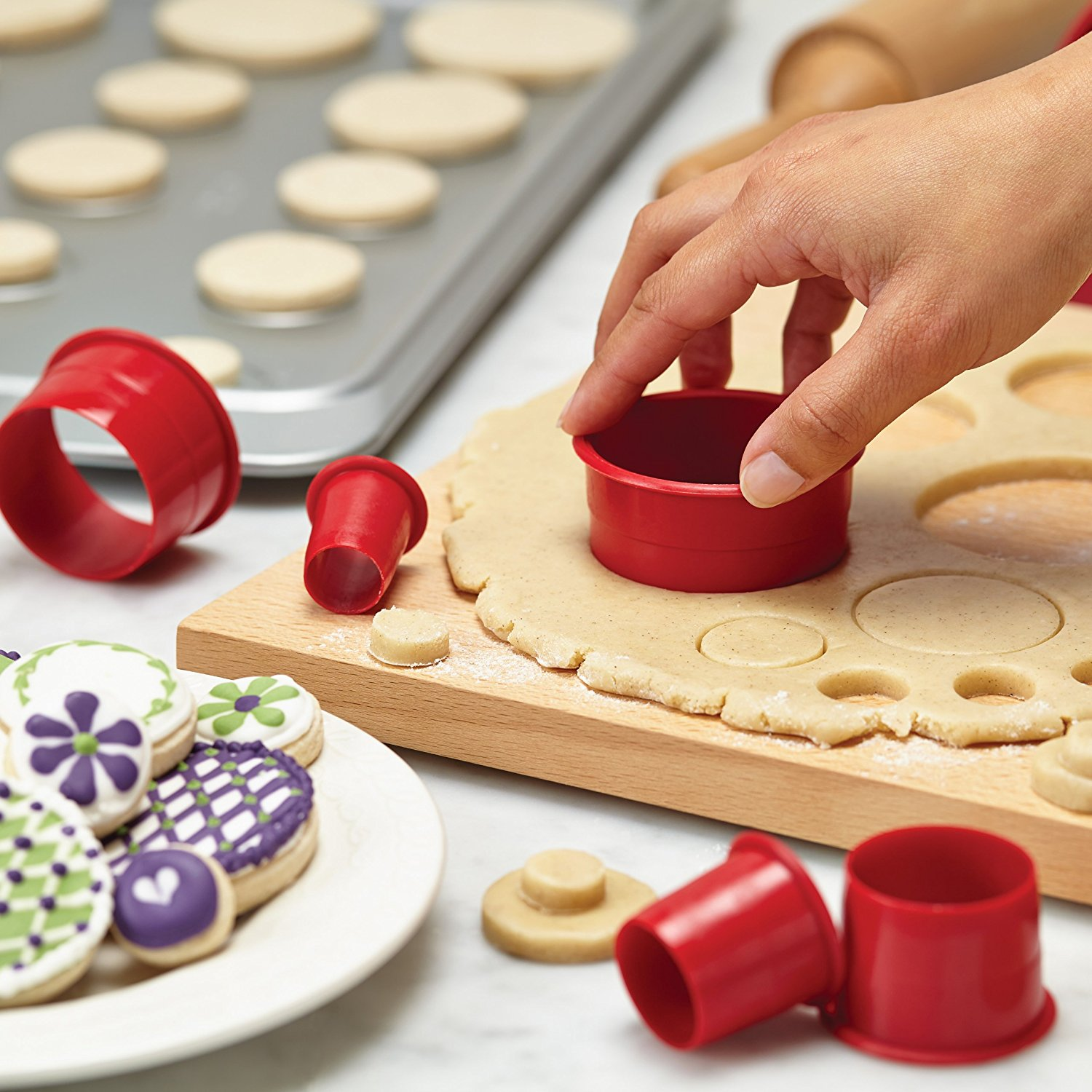 Cake Boss Fondant and Cookie Cutter Set