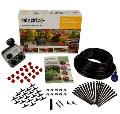 Raindrip Container & Hanging Basket Irrigation Kit
