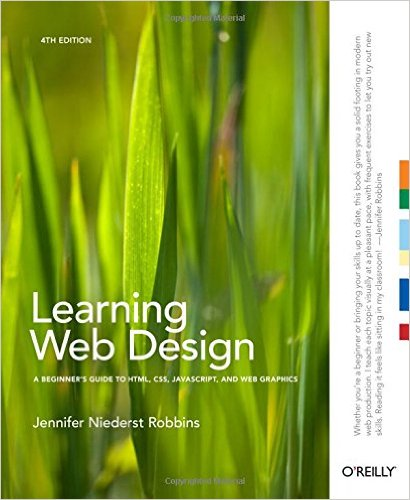 Jennifer Niederst Robbins Learning Web Design