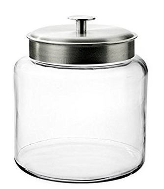 Anchor Hocking Mini Montana Apothecary Jar