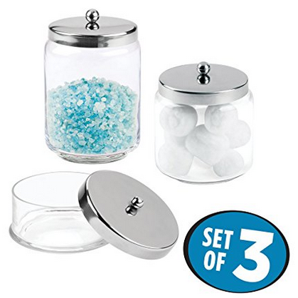 MetroDecor mDesign Polished Apothecary Jars