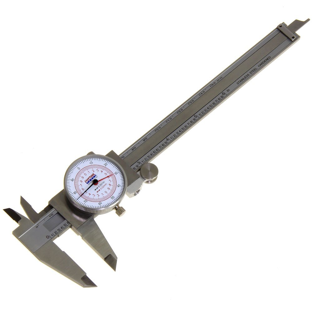 "Anytime Tools 6"" Dial Caliper"