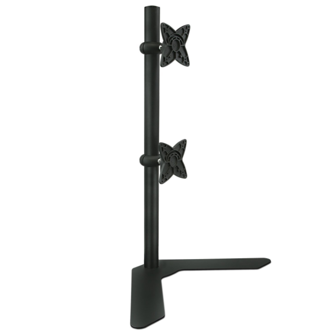 Mount-It! Vertical Free Standing Dual Monitor Stand