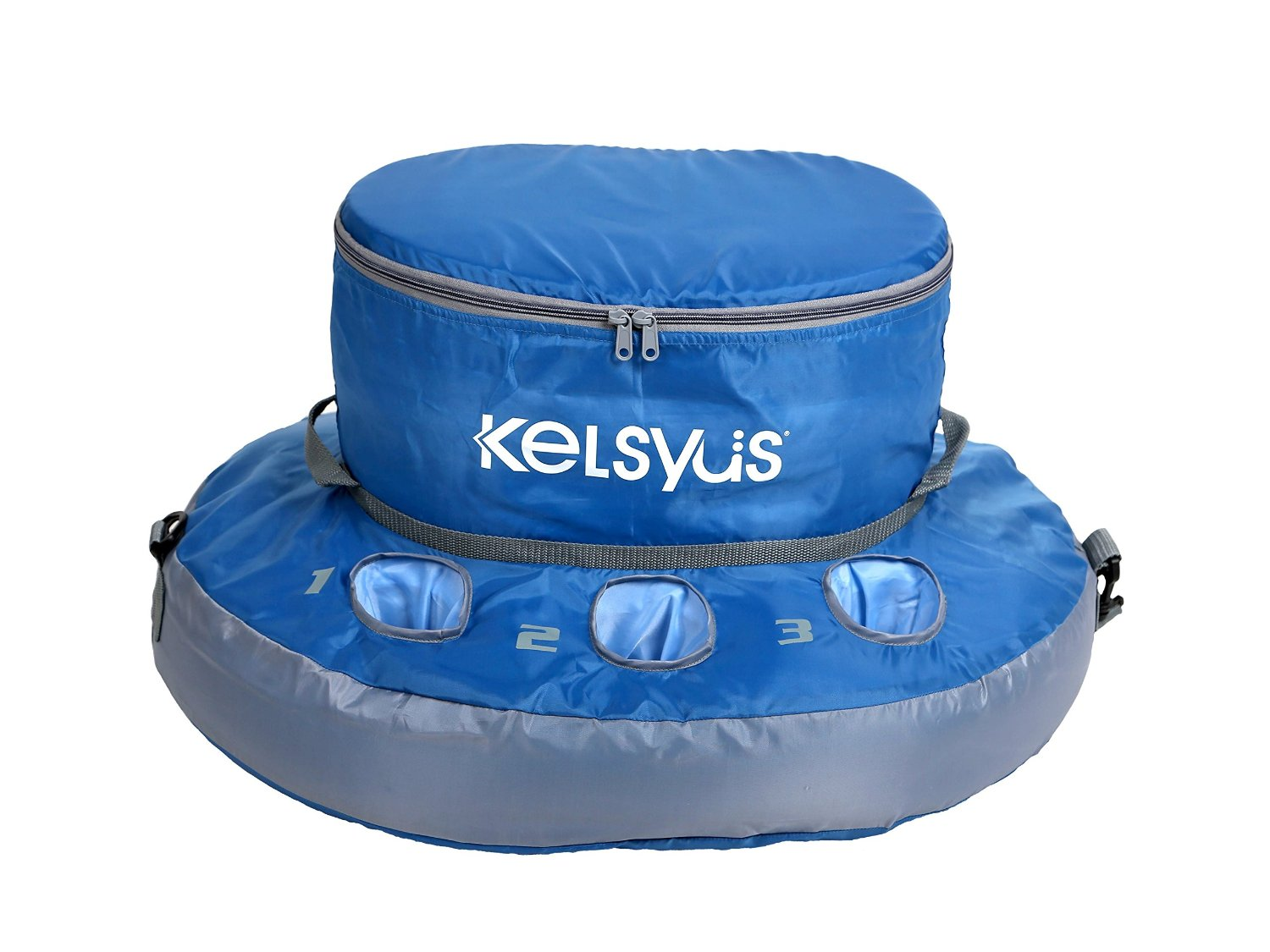 Kelsyus SwimWays OS Floating Cooler, Blue