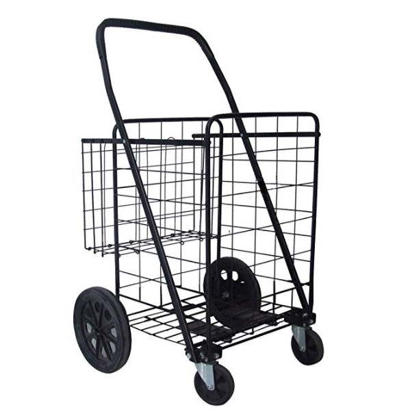 Unique Imports Jumbo Folding Cart