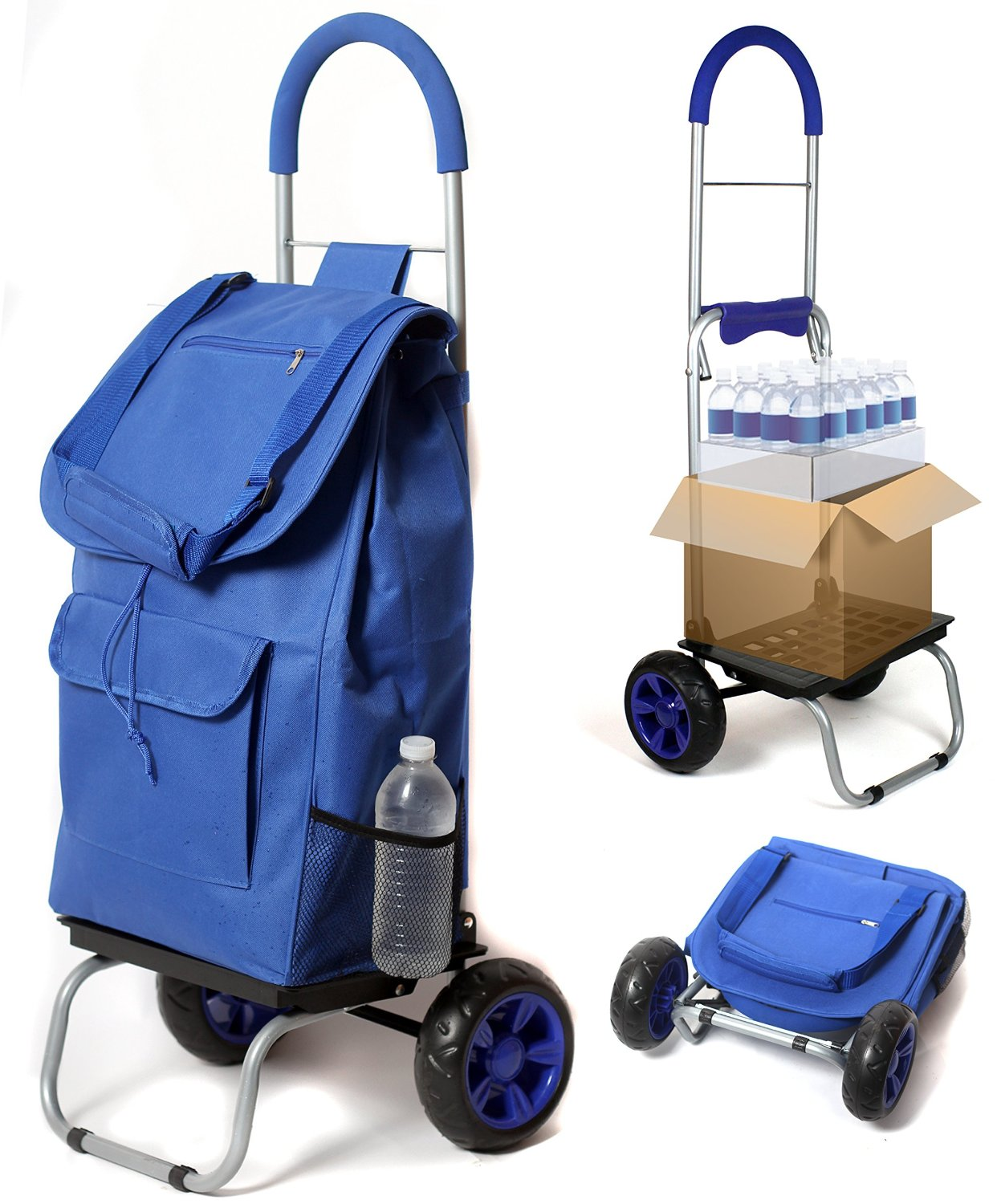 dbest Products Grocery Trolley Dolly