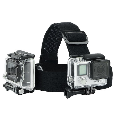 CamKix Head Mount Bundle for GoPro