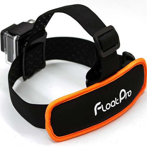 FloatPro 2-in-1 GoPro Head Strap Mount
