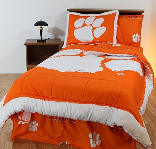 College Covers Clemson Tiger Bed in a Bag