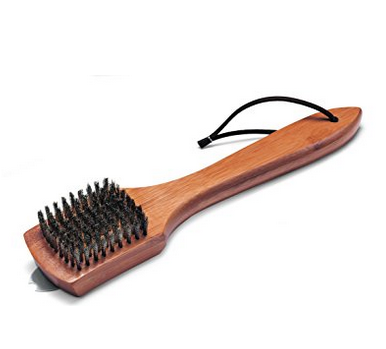 "Weber 12"" Bamboo Grill Brush"
