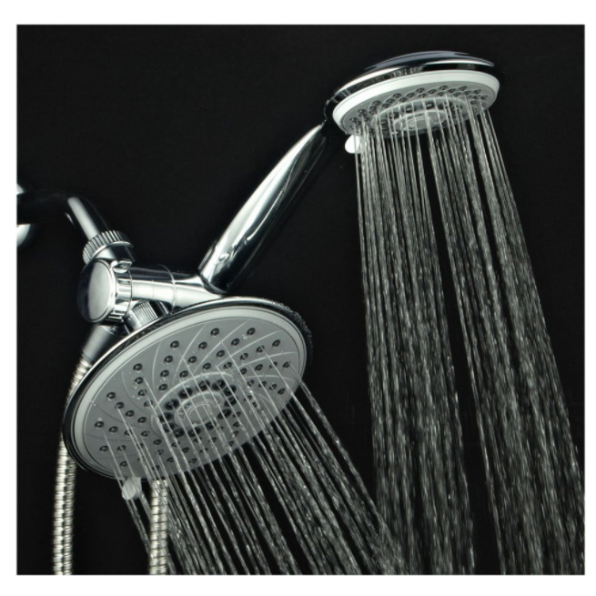 HotelSpa Ultra-Luxury 3-Way Dual Showerhead