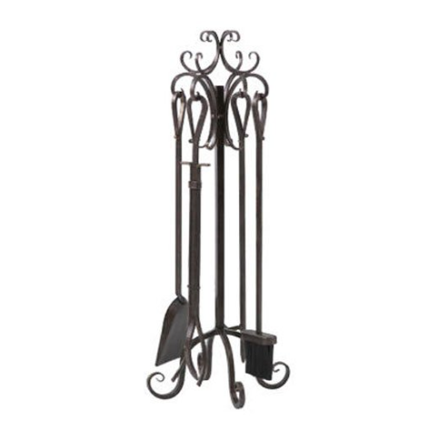 Panacea 5-Piece Fireplace Tool Set