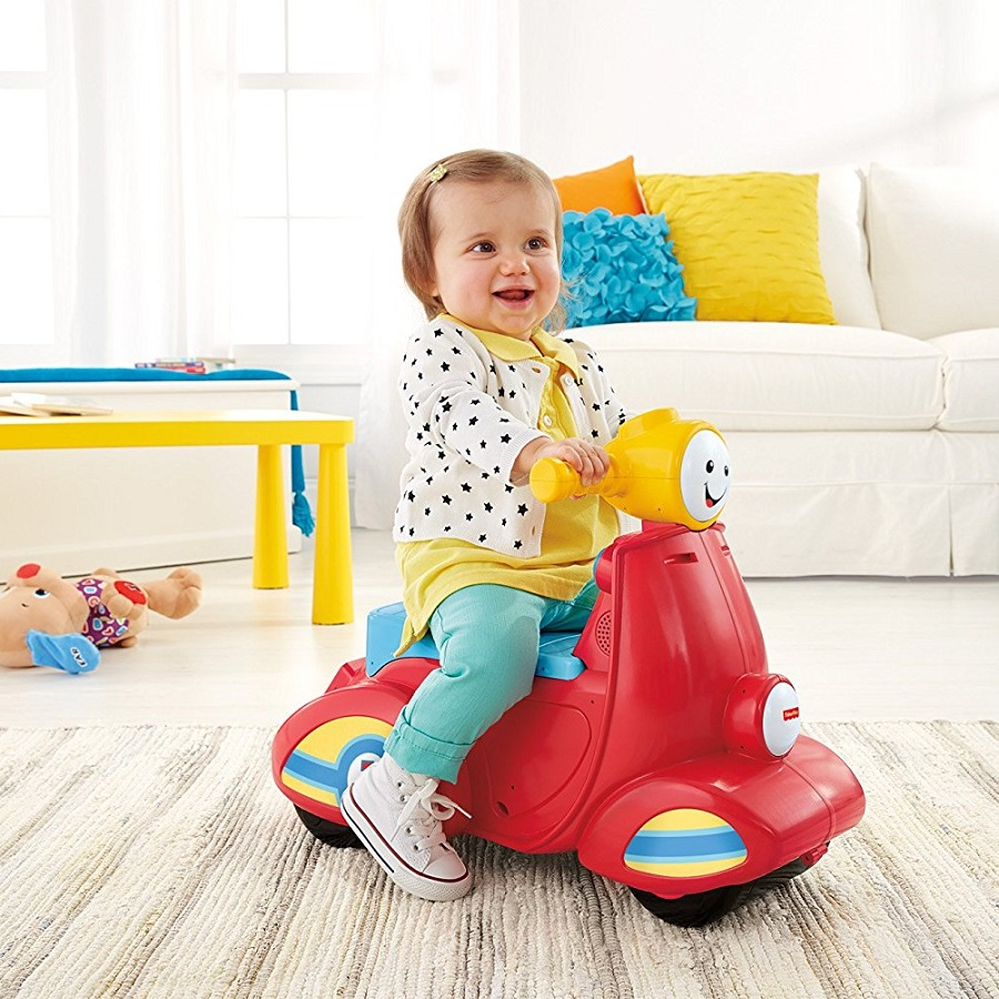 Fisher-Price Laugh & Learn Toddler Scooter