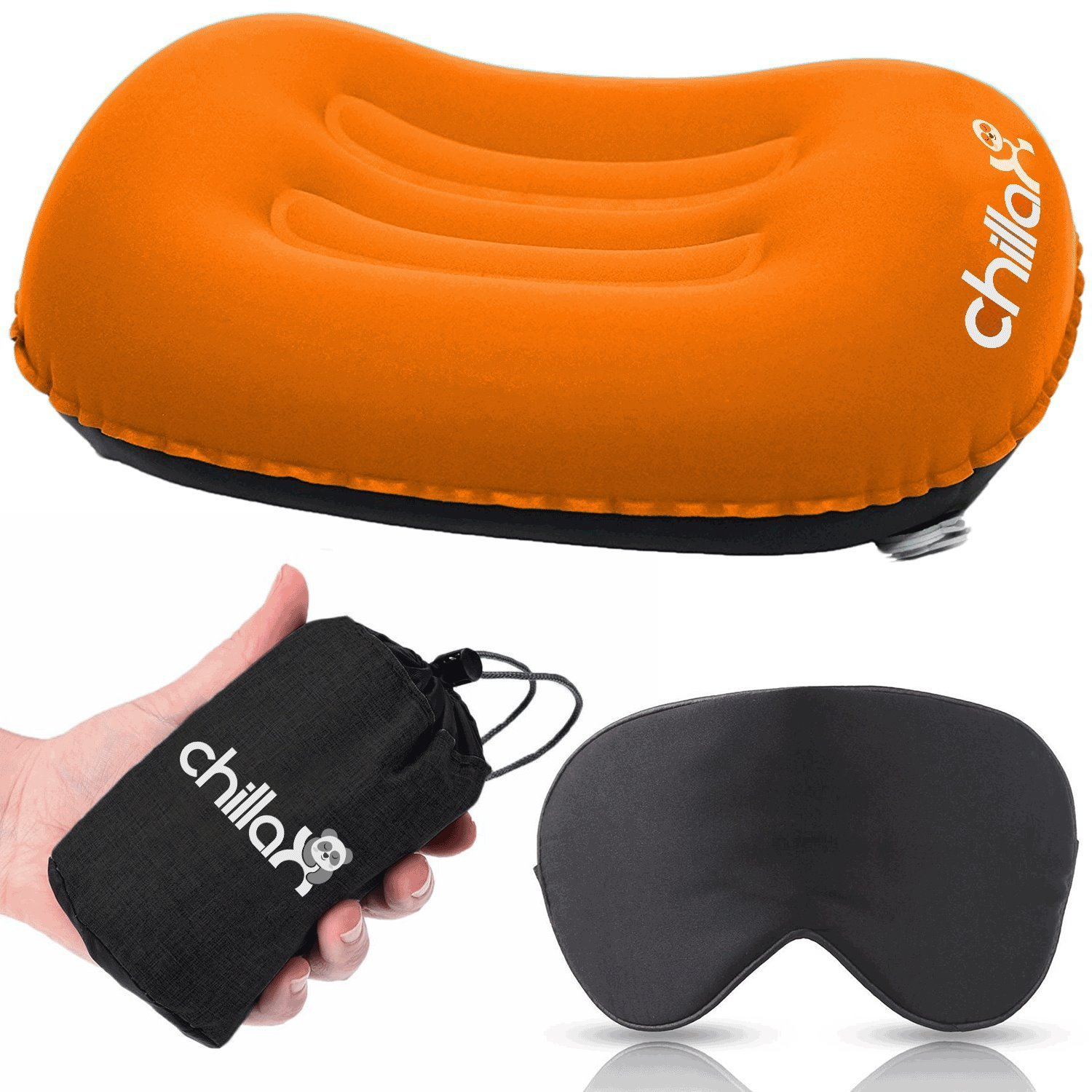 ChillaX Inflatable Camping Pillow