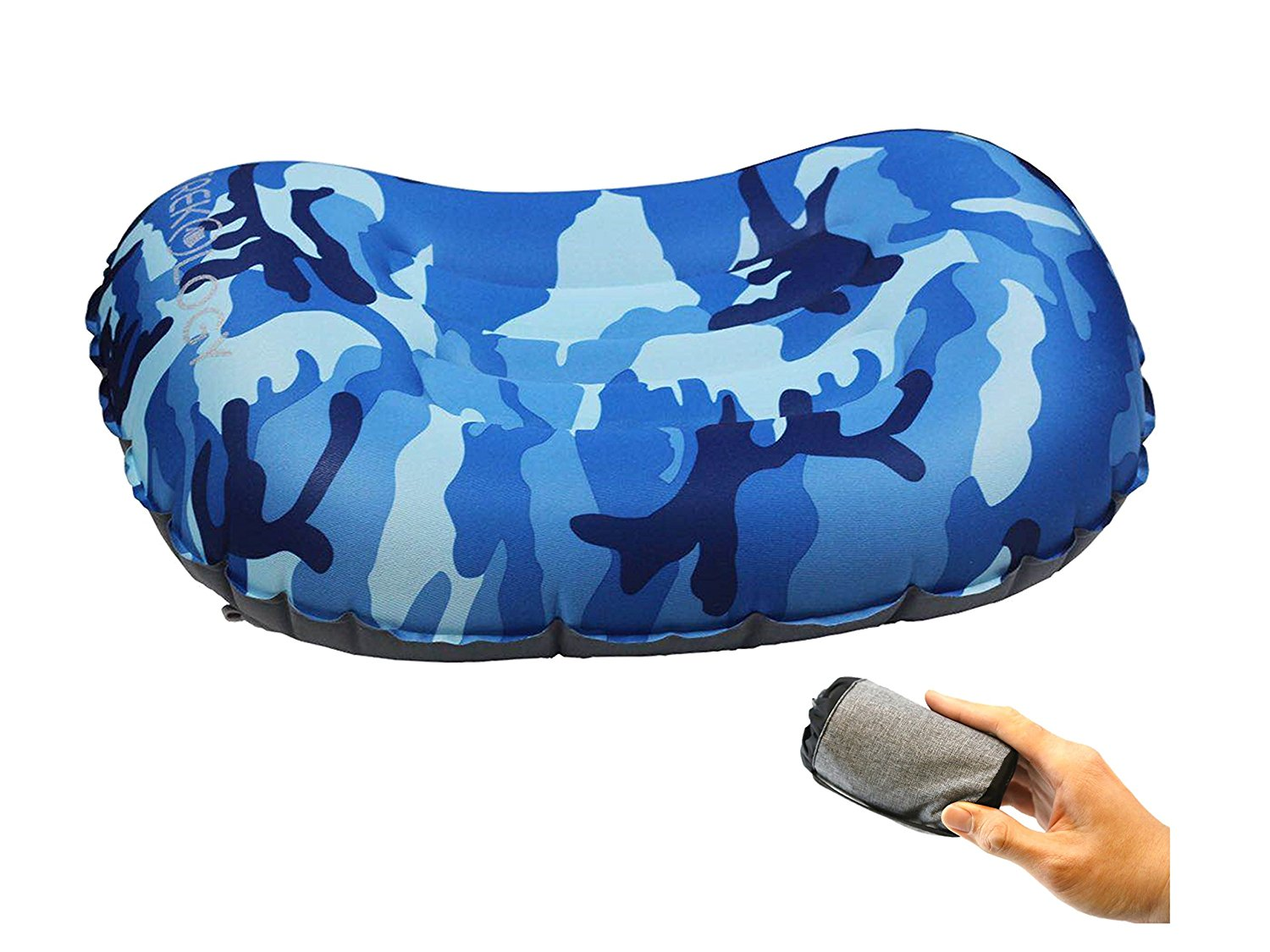 Trekology Lumbar Inflatable Camping Pillow
