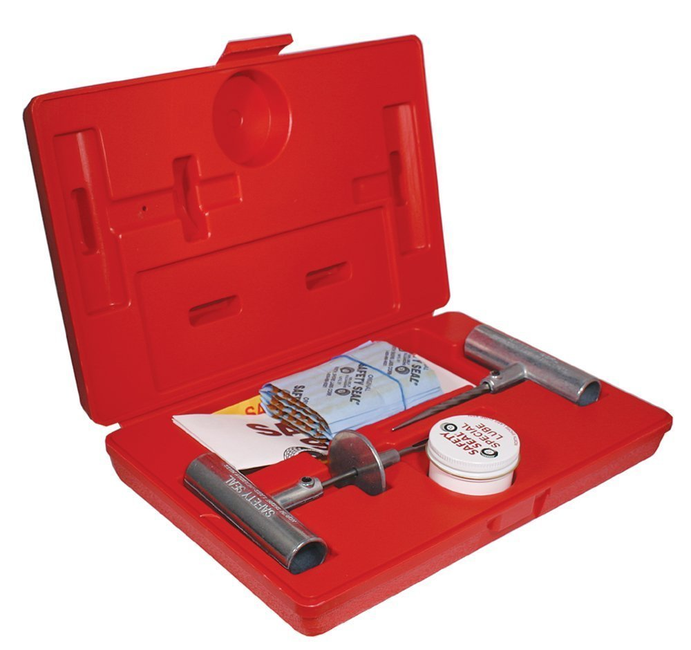 Safety Seal Deluxe 30 String Pro Tire Repair Kit with Storage Case