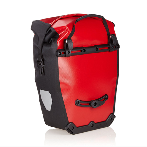 Ortlieb Back-Roller City Red Bike Panniers with Waterproof PVC-Coated Polyester Fabric