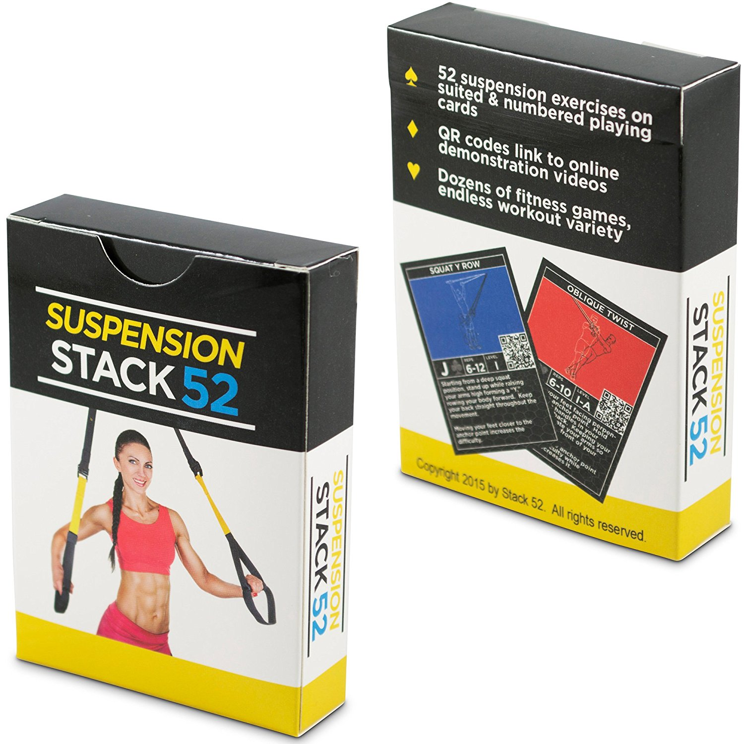 Stack 52 Suspension Exercise Cards
