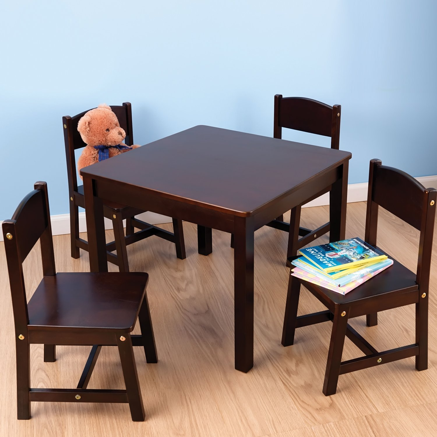 KidKraft Farmhouse Table & 4 Chairs Set