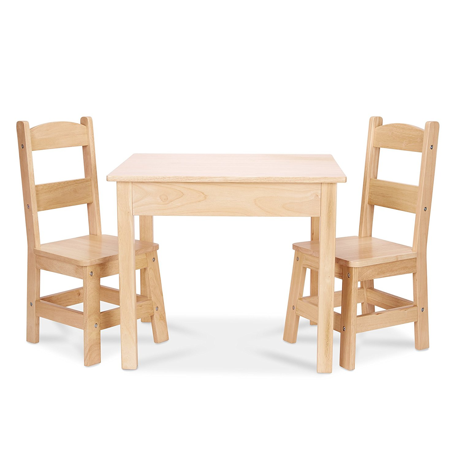 Melissa & Doug Solid Wood Table & Chairs