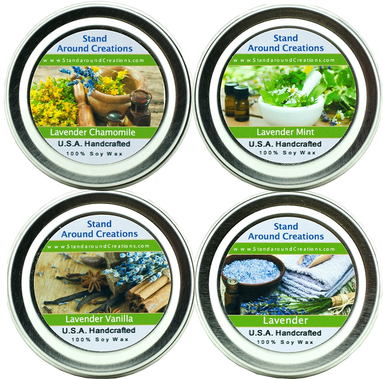Stand Around All Natural Aromatherapy Candles