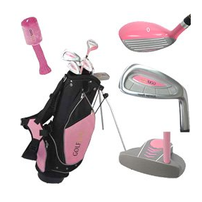 Golf Girl Pink Junior Golf Set