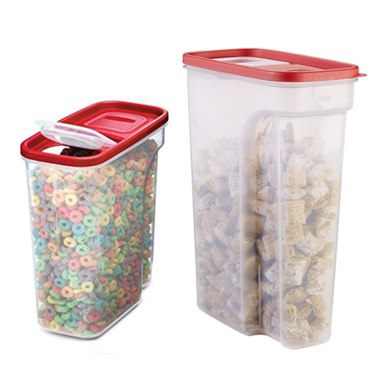 Rubbermaid Modular Cereal Containers