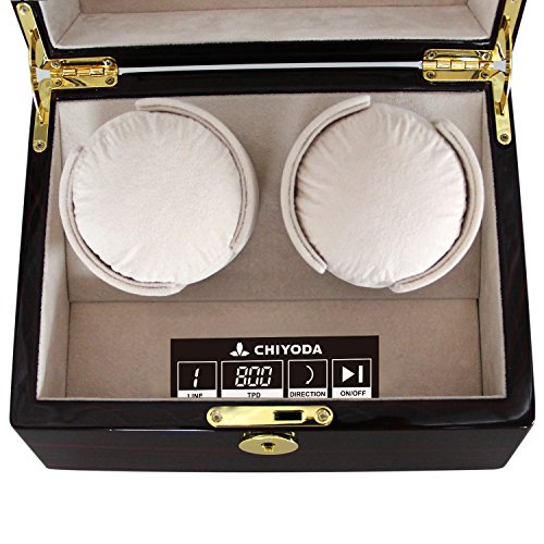 CHIYODA Automatic Double Watch Winder