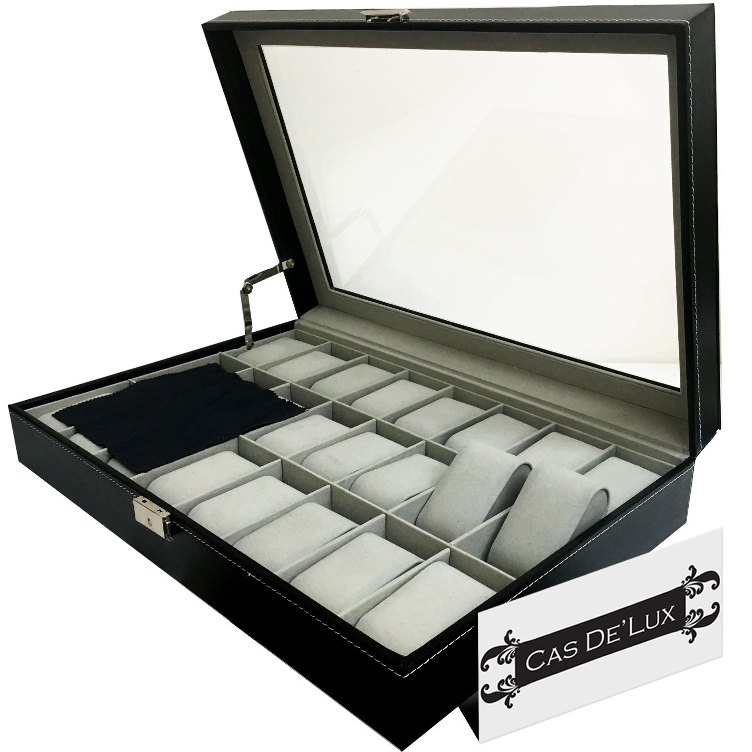 Cas De' Lux Luxury Watch Box