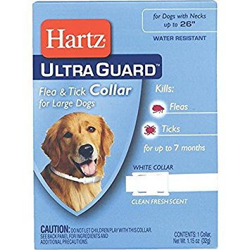 Hartz UltraGuard Flea and Tick Collar for Dogs