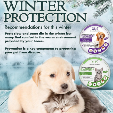 XUS ProGuard Plus Flea Repellant Collar