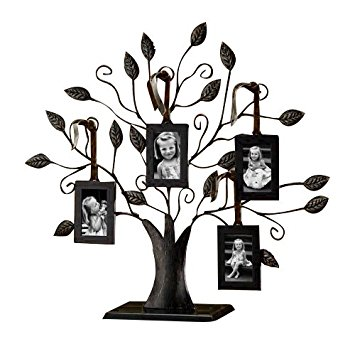 Klikel Bronze Family Tree Photo Stand