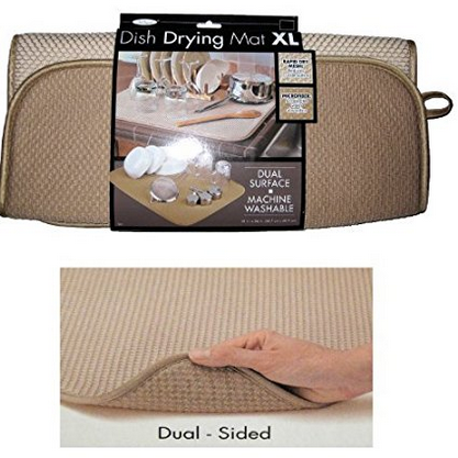 The Original™ Dual-Sided Dish Drying Mat