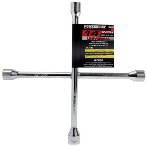 Powerbuilt Four Way Lug Wrench