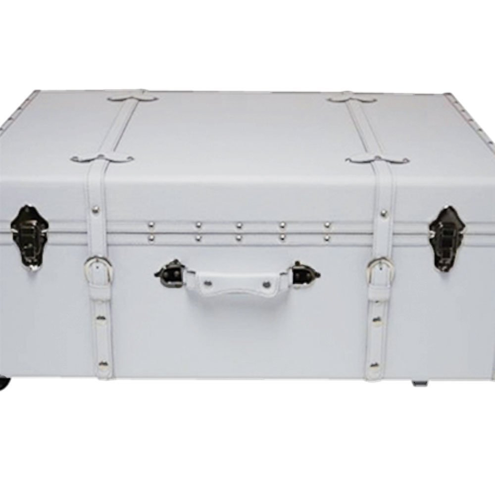 DormCo Designer Wheeled Large Steamer Trunk - Available in Several Colors