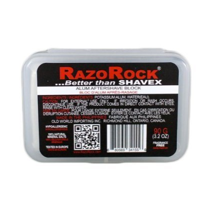 RazoRock Alum Bloc with Case