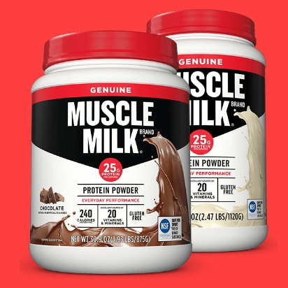 Muscle Milk® Genuine Protein Powder Shake Mix