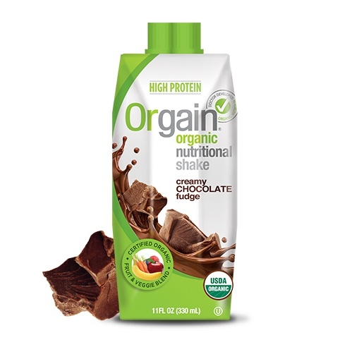 Orgain Organic Nutritional Protein Shake – Ready to Drink