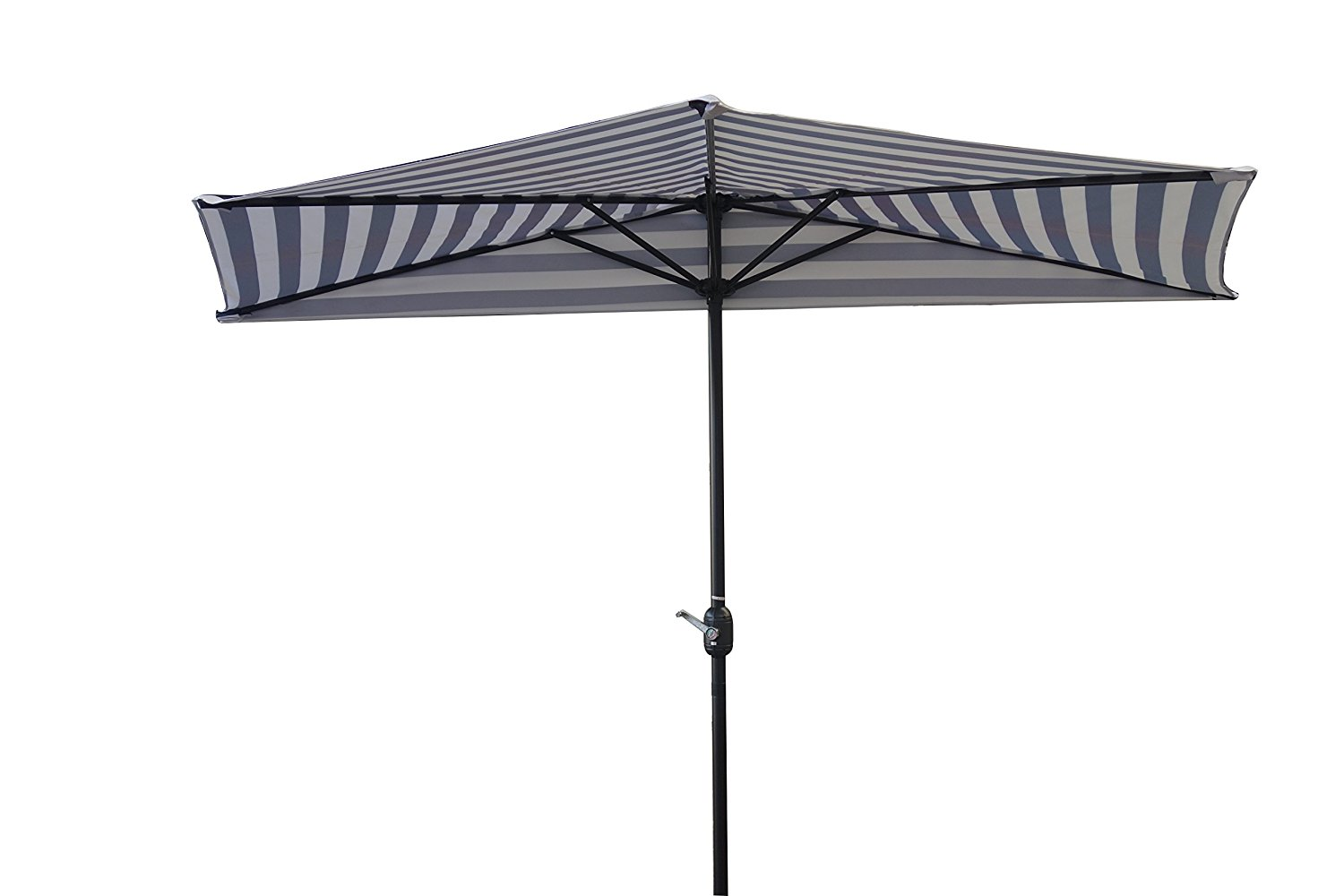 Trademark Innovations 9' Patio Half Umbrella